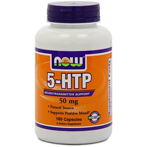 Now Foods 5-htp 50mg, Capsules, 180-Count