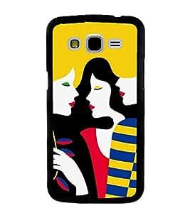ifasho Designer Back Case Cover for Samsung Galaxy J5 (2015) :: Samsung Galaxy J5 Duos (2015 Model) :: Samsung Galaxy J5 J500F :: Samsung Galaxy J5 J500Fn J500G J500Y J500M (Cartoon Girl Karachi Pakistan Compassion)