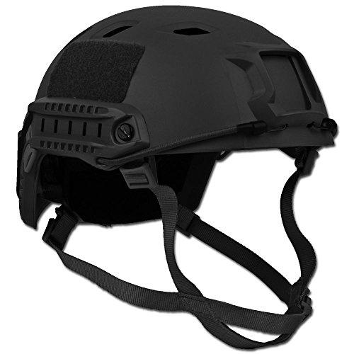 Unbekannt US Helm Fast- Fallschirmjäger schwarz -