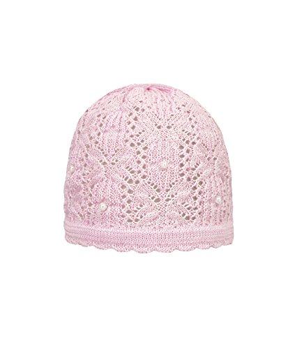 Döll Mädchen Mütze Topfmütze Strick 1812750101, Rosa (Pink Lady 2720), - Baumwolle Mütze Gestrickte Aus