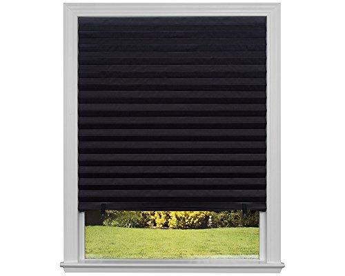Original Blackout Plissee Papier Schatten schwarz, 36