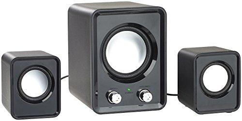 auvisio Lautsprecher Laptop: 2.1-Lautsprecher-System mit Subwoofer und USB-Stromversorgung, 20 Watt (Lautsprecher für PC)