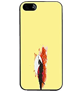 PrintDhaba Abstract Image D-4432 Back Case Cover for APPLE IPHONE 4S (Multi-Coloured)