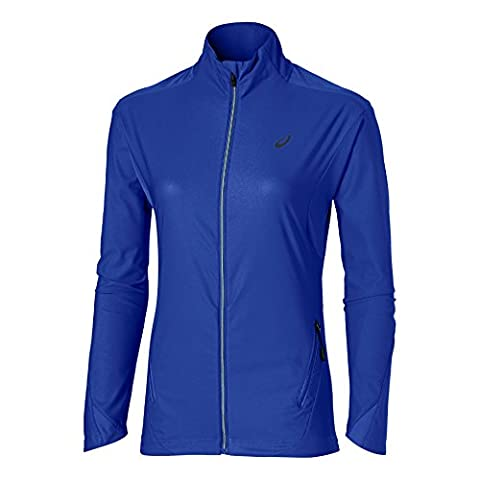 ASICS Wind Bloc Veste pour femme, Femme, Windblock Jacket Women, Bleu