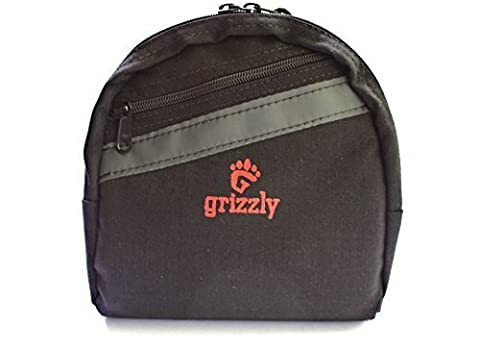 Grizzly's UTAH Super Padded Protective FISHING REEL GEAR BAG for Small to Medium Spinning Reel and/or Fly Fishing Reel. Holds Additional Gear, Hooks, Flies, Weights, Fishing Line. Protect Your Fishing Gear from Loss and Damage by Wild Grizzly Products