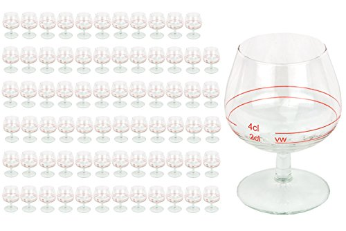 72er Set Cognacschwenker Casino Mit Rotring 2 Cl 4cl Geeichtes Cognacglas Fr Genieer Mit Fllstrich Likrglas Schnapsglas Fr Edle Tropfen Hochglnzendes Markenglas Spirituosenglas Klar