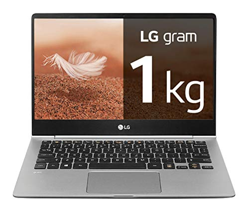 LG gram 14Z990-V - Ordenador portátil ultrafino - 35.5 cm (14') - FHD IPS (1 kg, autonomía 23.5 h, Intel i5-8265U, 8 GB RAM, 256 GB SSD, Windows 10 Home) Color Plata - Teclado QWERTY Español