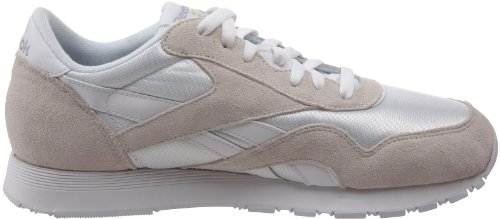 Reebok Herren Cl Nylon Laufschuhe Weiß (White/Light Grey)