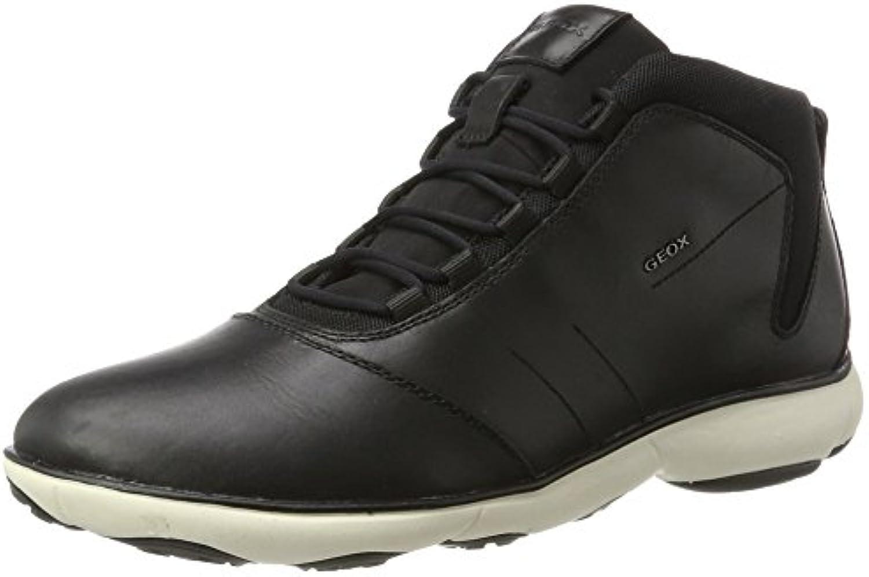 Geox Jungen J Arzach Boy A Sneaker  Blau (Navy/DK Yellow)  28 EU