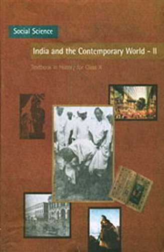 India and the Contemporary World - 2 Textbook in History for Class - 10  - 1066