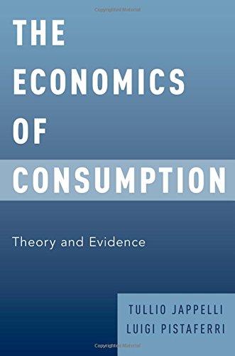 The Economics of Consumption: Theory and Evidence por Tullio Jappelli