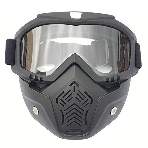 Beydodo Unisex Schutzbrille Antibeschlag Klar Herren Motorradbrille Beschlagfrei Sicherheitsbrille für Brillenträger Schutzbrillen zum Schutz der Augen