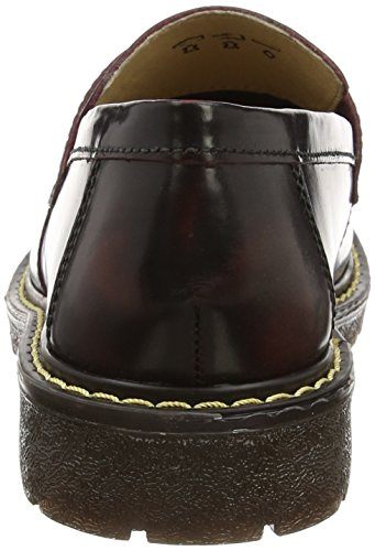 Grinders Cuthbert, Mocassins Homme Rouge (burgundy)