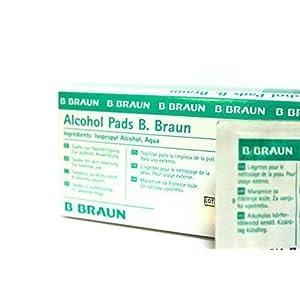 Alkoholtupfer von B. Braun 100 Stück