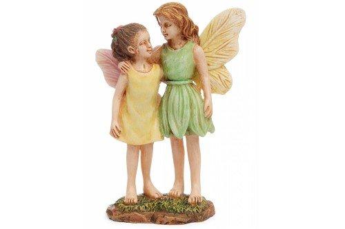 Marshall Home mg121Fairy Garten-Miniatur-Statuen Fee Schwestern, 3-1/5,1cm (Schwester Statuen)