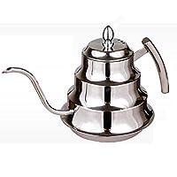 1200ML Stainless Steel Coffee Drip Kettle Tea Pot Coffee Pot Coffee Percolator
