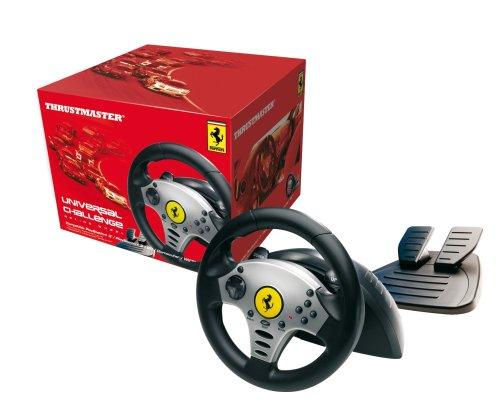 Guillemot Universal Wheel - 5in1 Lenkrad USB für PC/Playstation2/Playstation3/Camecube/Wii Silber -