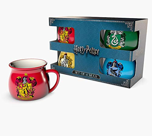 Harry Potter – House Crests – Limited Edition Gift Box Geschenkset Fanartikel – Grösse 22×16,5×10