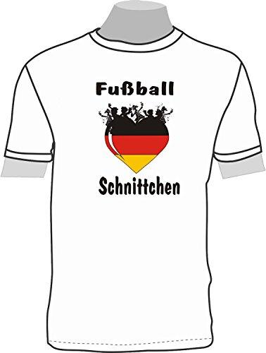 Fußball Schnittchen; T-Shirt