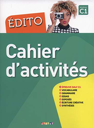 Edito C1 (éd. 2018) - Cahier por Anouch Bourmayan
