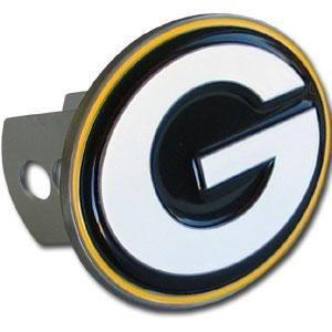 Siskiyou sportsfths115s groß logo-only NFL Anhängerkupplung, Green Bay Packers Frost Pilsner