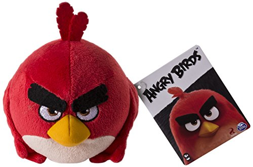 Angry Birds Classic Plush - Juguetes de Peluche, Modelos y Colores Surtido