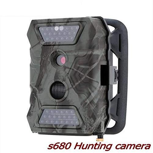 QOUP Wildkamera, wasserdicht, Nachtsicht für Vögel, Infrarotkamera 1080P HD, PIR-Bewegungserkennung, 40 Del Infrarot
