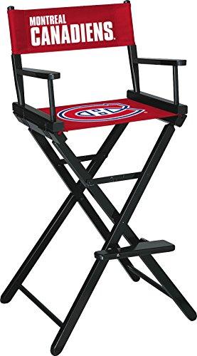 Imperial Offizielles Lizenzprodukt NHL Merchandise: Regiestuhl (hoch, Bar Höhe), Boston Bruins, Unisex, weiß