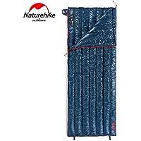 Monllack Ganso Abajo Saco de Dormir, Ultra Compacto Ligero Engrosamiento de Dormir Impermeable Bolsa de