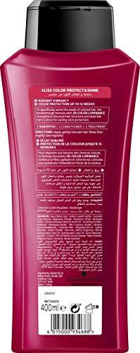 Schwarzkopf Gliss Hair Repair Shampoo Color Protect & Shine (400ml)