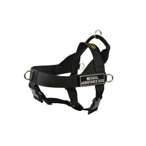 Dean-Tyler-DT-Universal-Medical-Assistance-Dog-No-Pull-Dog-Harness-Small-Black