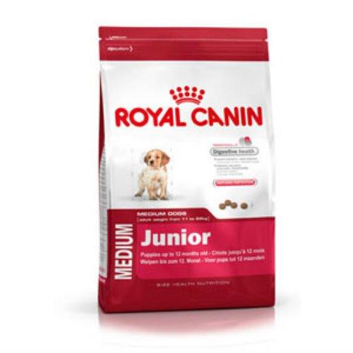 Royal Canin Medium Puppy/Junior complète Nourriture pour chien avec volaille 4kg