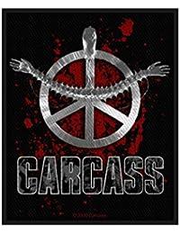 carcass parche–heartwork–carcass Patch–tejida & licencia oficial..