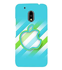 printtech Apple Back Case Cover for Motorola Moto G4 Plus / Motorola Moto G4