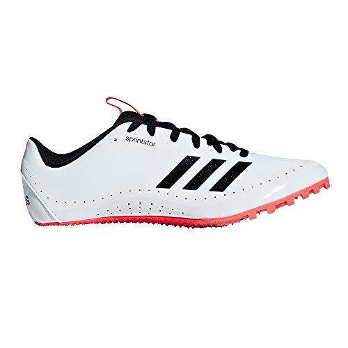adidas Sprintstar, Scarpe da Atletica Leggera Uomo, Multicolore (Ftwr White/Core Black/Shock Red B37503), 44 EU