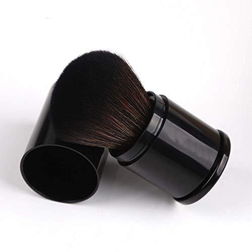 qian Makeup Pinsel - Schminkpinsel - Puderpinsel (8cm) mit Weicher Kunstfaser - Kosmetikpinsel für...