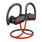 Bluetooth Kopfhörer, BassPal TonePro U14 Drahtlose Sport-Kopfhörer Wasserdicht IPX7, Mic Rich Bass HD Stereo Schweißsichere In Ohr-Ohrhörer für Fitnesstudio Laufen Training 9 Stunden Lärmunterdrückung