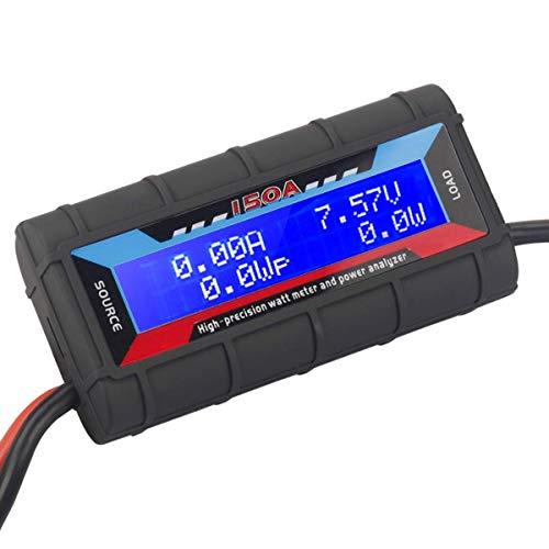 Amperometro da 4,8 V ~ 60 V 150 A RC Watt Meter ad alta precisione per batteria RC, batteria, solare, eo