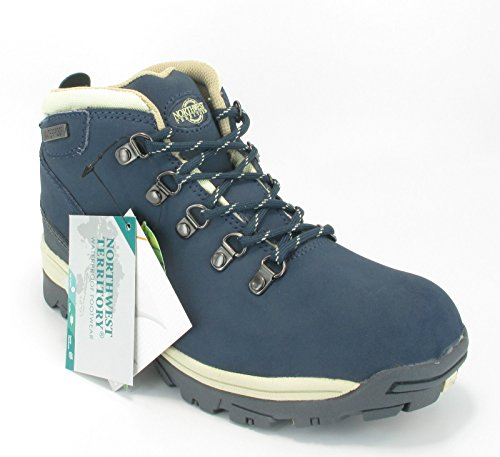 NorthWest-Trek-Womens-WaterProof-Leather-Lace-Up-Walking-Hiking-Boots
