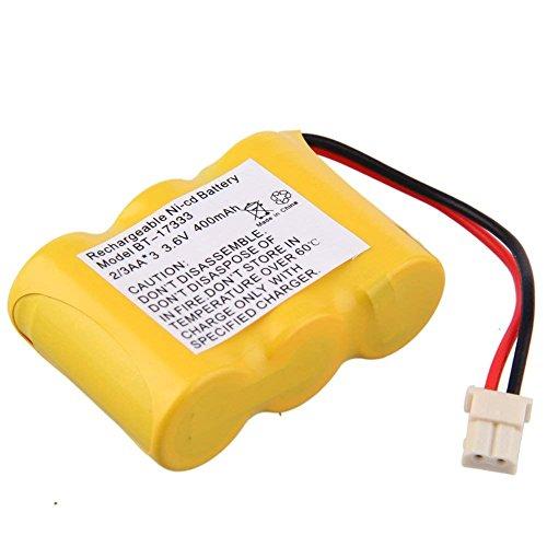 JIAN YA NA - Batería de Repuesto para teléfono inalámbrico Vtech BT 17333 BT 27333 CS2111 3,6 V 400 mAh, Ni CD, Color Amarillo 0,14 x 0,1 x 0,05