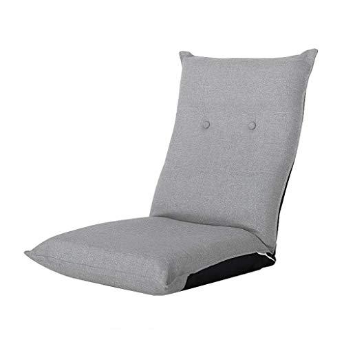 Multifunzionale dell'interno della casa di sofà pigro di sostegno posteriore piegante regolabile della sedia di pavimento (colore : -, dimensione : -)