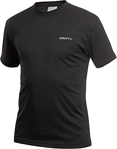 Craft Herren Funktionsshirt Active Run Tee, Black, L, 199205-1999
