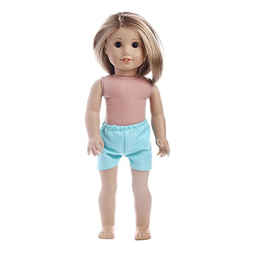 YunYoud Mode Puppe Kurze Hose für 18 Zoll Girl Baby Geboren Puppe Kleidung Kinderwagen Jungen Outdoor Shops kreisel Garage Feuerwehrauto Hubschrauber Bus spielzeugautos