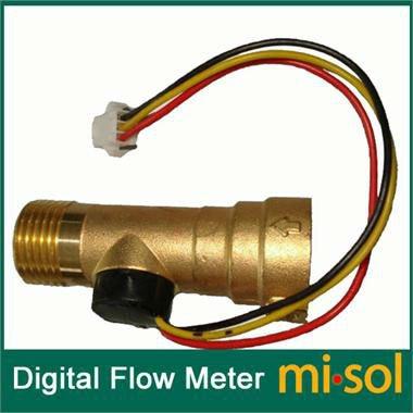 Angebot Thermostat (GOZAR Dc 5V Kupfer Wassererhitzer Sensor Switch Flow Sensor)