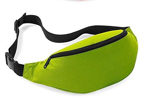 Z&HX sportspurse Hip Pack Reisetaschen Bergsteigens Tasche Rucksack im Freien Multifunktions grass green