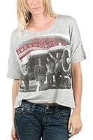 LED ZEPPELIN-Damen Zep Flugzeug T-Shirt in Heather Grey