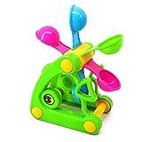 F Fityle Kunststoff Sandmühle Wassermühle Sandspielzeug Wasserspielzeug, geeignet für Sandpit Badezimmer und Strand