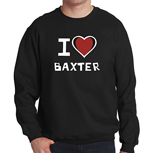 Felpa I love Baxter