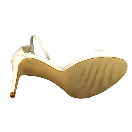 Steve Madden Stecy Synthétique Sandales Wht
