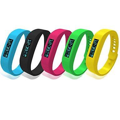 Bluetooth 4.0 Armband wasserdichte IP58 Multifunktions Schrittzähler Armband Bluetooth Smart Armband mit OLED-Display